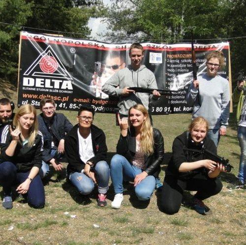 Zajęcia z Wyszkolenia Strzeleckiego na strzelnicy w Toruniu