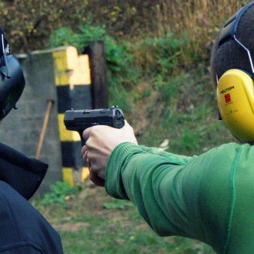 Strzelania programowe z broni palnej dla słuchaczy I semestru – Grudziądz 2013
