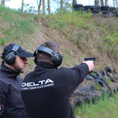 """Strzelania programowe dla słuchaczy IV sem ESSO """"DELTA"""" w Gnieźnie – kwiecień 2017"""