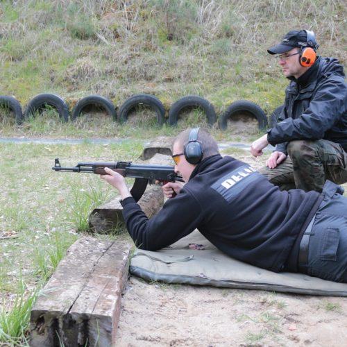 """Strzelania programowe dla słuchaczy IV sem ESSO """"DELTA"""" w Inowrocławiu – kwiecień 2017"""