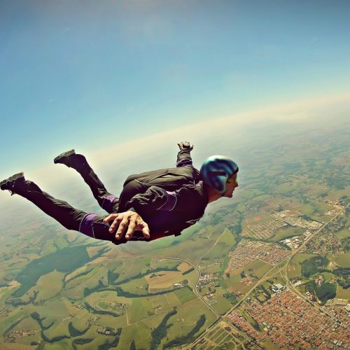 """Skoki spadochronowe """"DELTA"""" II edycja 2017 – Informacje dla słuchaczy"""