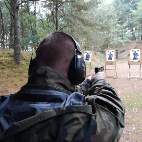 """Strzelania dla słuchaczy ESSO """"DELTA"""" w Koszalinie – październik 2017"""